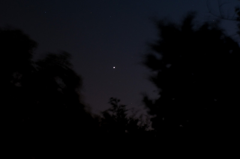Jupiter rising, Sept. 2010.