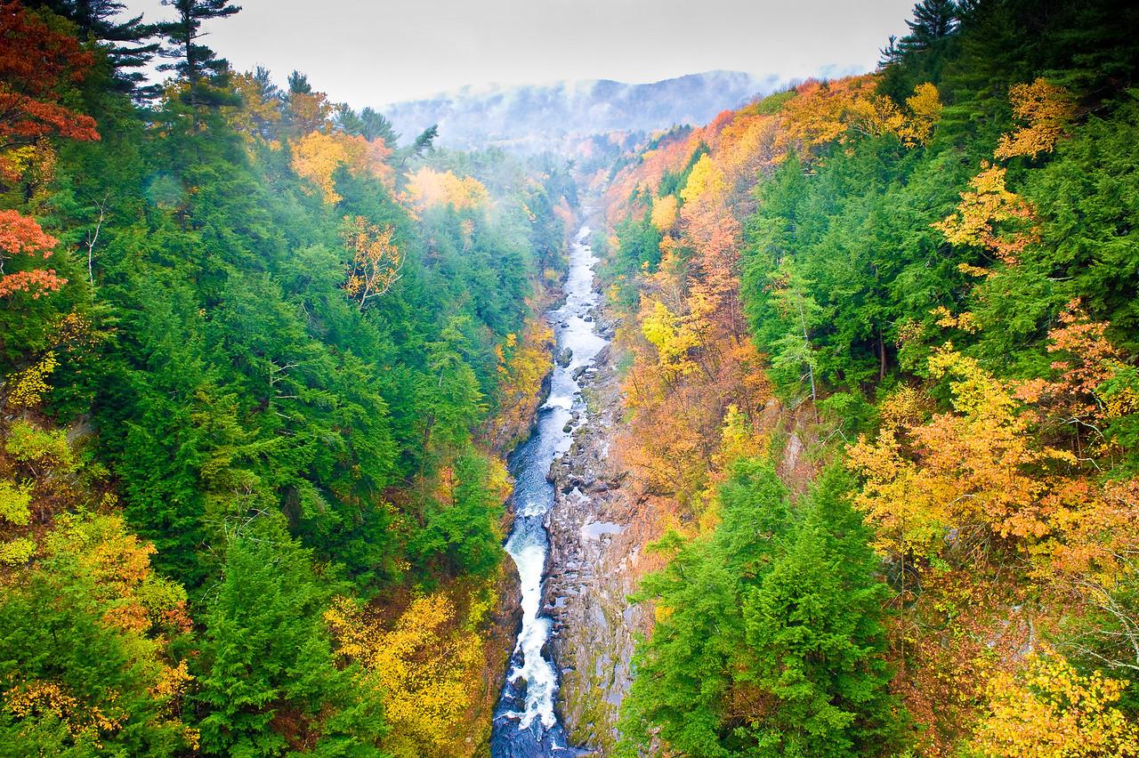 Quechee Gorge, Vermont.