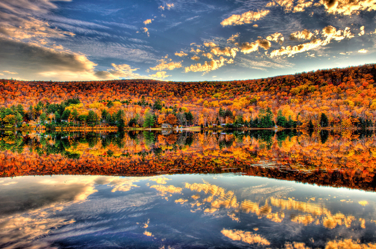 Lower Baker Pond, New Hampshire.