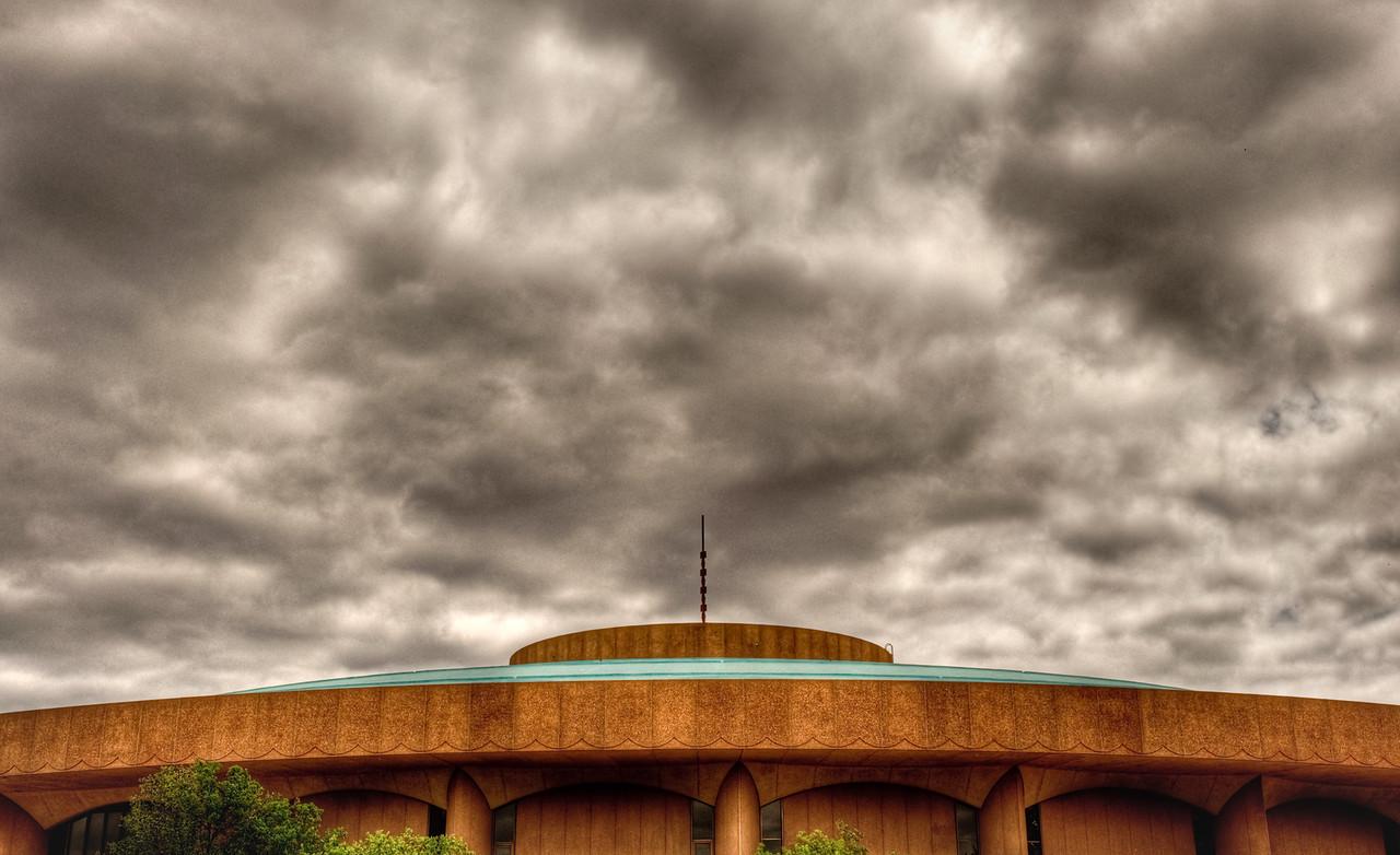 Century II Convention Center in downtown Wichita, Ks.