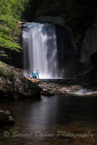 Looking Glass Falls, N.C.