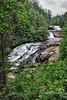 Triple Falls, Hendersonville, NC.