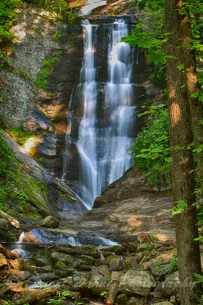 Toms Creek Falls, N.C.