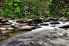 Triple Falls trail, Hendersonville, NC.