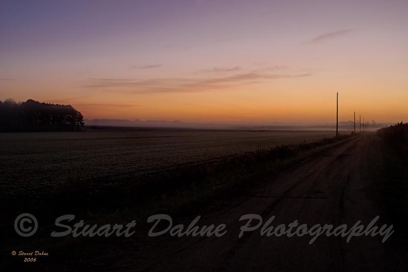 Sunrise, Rte. 50 just outside of Cambridge, Md.