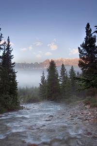 Sunrise, Baker Creek and Panorama Ridge