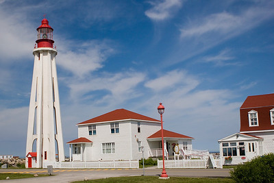 Le Phare Poite-au-Pere, City of Rimouski, Quebec, Canada