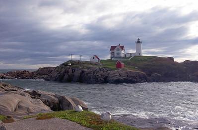 York Nubble - Early Light                                                                Nubble Lighthouse, York Beach, Maine