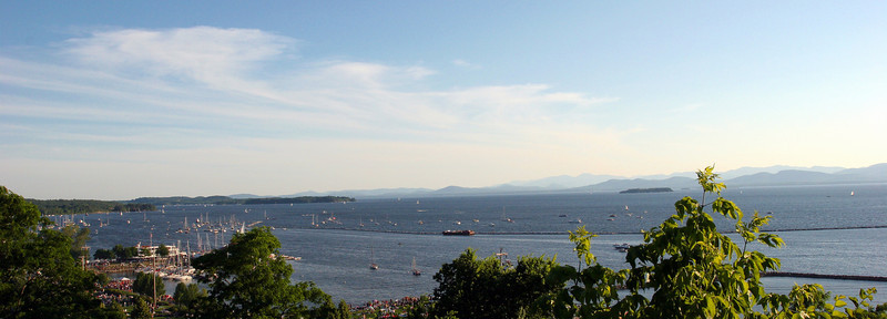 Lake Champlain , Burlington, Vermont