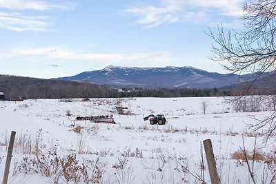 Mount Mansfield in Winter
