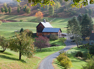 Sleepy Hollow Farm, Pomfret, Vermont (Landscape) #2
