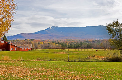 Mount Mansfield in Autumn