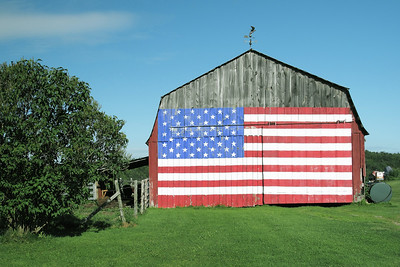 Roger Hilaire's Barn, Williston, Vermont