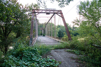 old iron bridge