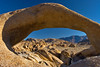Mobius Arch, Alabama Hills, California.  October 20, 2009