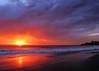 California coast sunset near Dana Point, California.  September 2010