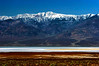 Snow-capped Panamint Mountains, Badwater Basin, Death Valley National Park, California. Spring 2005