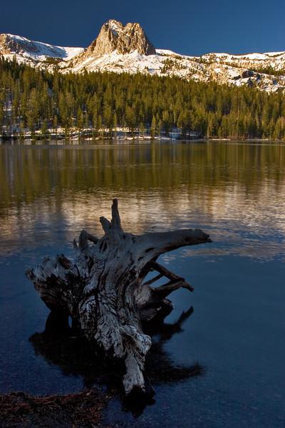 Lake Mamie, Mammoth Lakes Basin, Eastern Sierra Nevada, California.  October 17, 2009