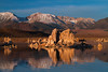 Tufa Towers at sunrise, Mono Lake, California.  October 2009