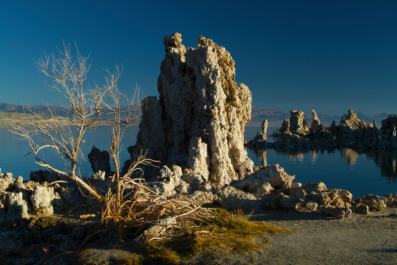 Tufa Towers, Mono Lake, California.  October 2009