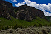 Colorado Scenic and Historic Byway 141, along the Dominguez-Escalante National Conservation Area, Colorado.  July 2009