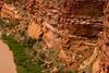 Remnants of road along canyon wall.  Area around Gateway, Mesa County, Colorado.  May 2009