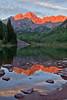 Maroon Bells and Maroon Lake, Colorado