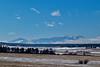 Pikes Peak, Colorado.  February 2015