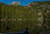 Bear Lake, Rocky Mountain National Park, Colorado.  July 2017