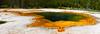 Emerald Pool, Black Sand Basin, Yellowstone National Park, Wyoming.  May 2015