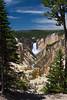 Yellowstone Falls, Yellowstone National Park, Wyoming.  July 2007