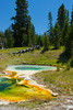 West Thumb Geyser Basin, Yellowstone National Park, Wyoming.  July 2007
