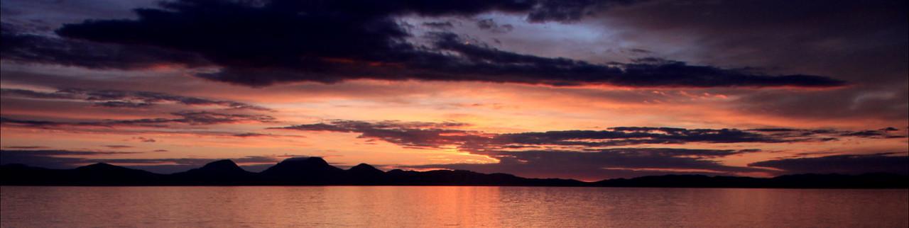 A G Crimson sunset