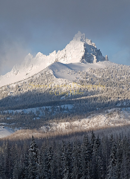 Three Fingered Jack from Hoodoo Ski Area