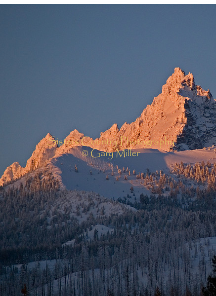 Last Light on Three Fingered Jack