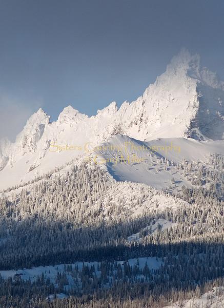 Three Fingered Jack from Hoodoo Ski Area