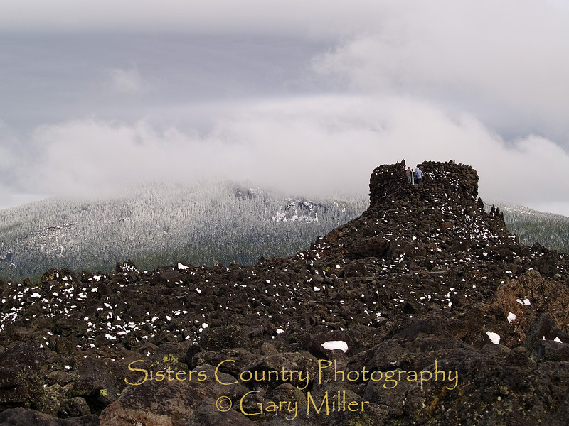 The 'Rock House' at the summit of the McKenzie Pass - Sisters, OR - Gary Miller's Sisters Country Photography