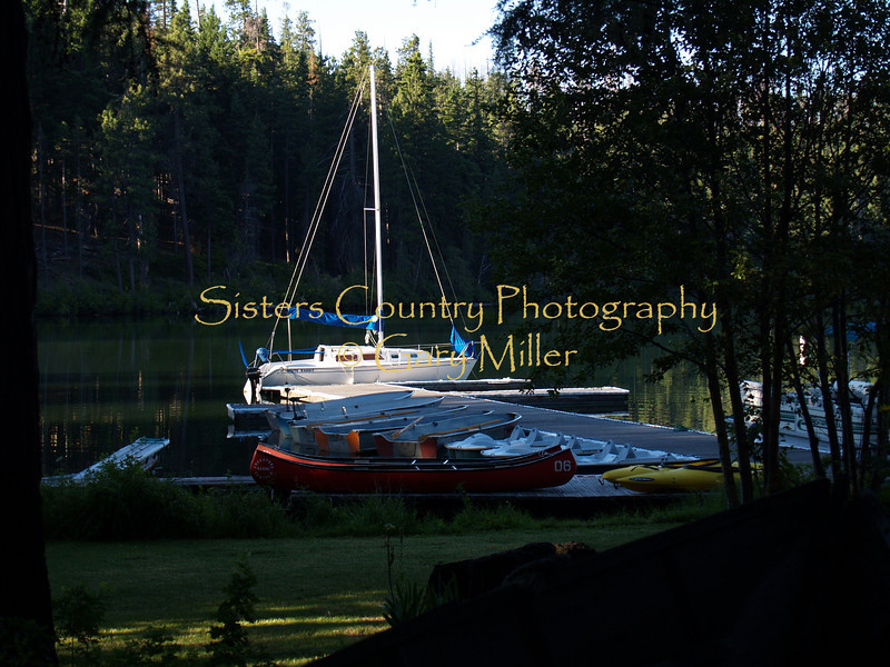 Sisters Country - Photos of the Sisters, Oregon Country - Marina at the Lodge at Suttle Lake