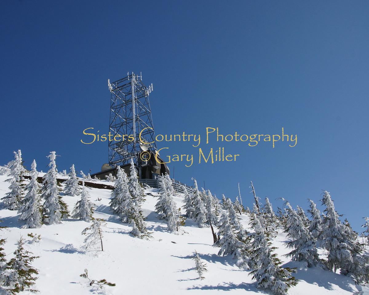 Communication Tower - Hoodoo Ski Area