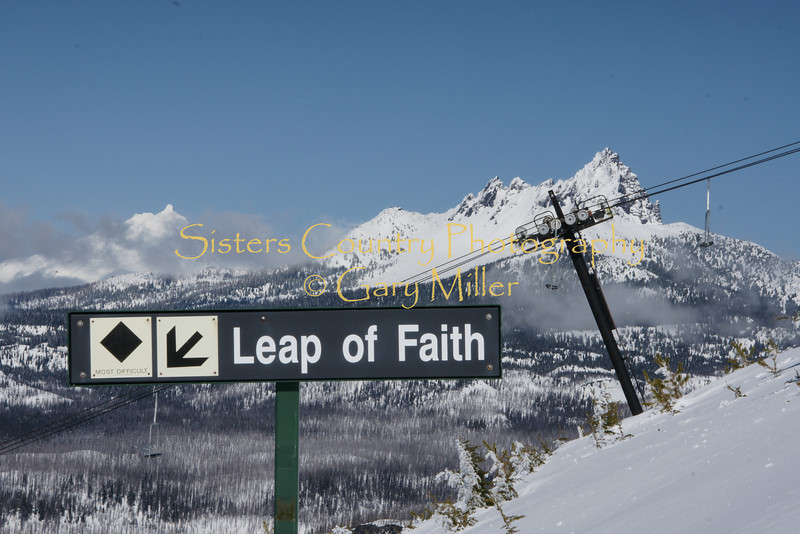 Faith, Got to have it. - Hoodoo Ski Area