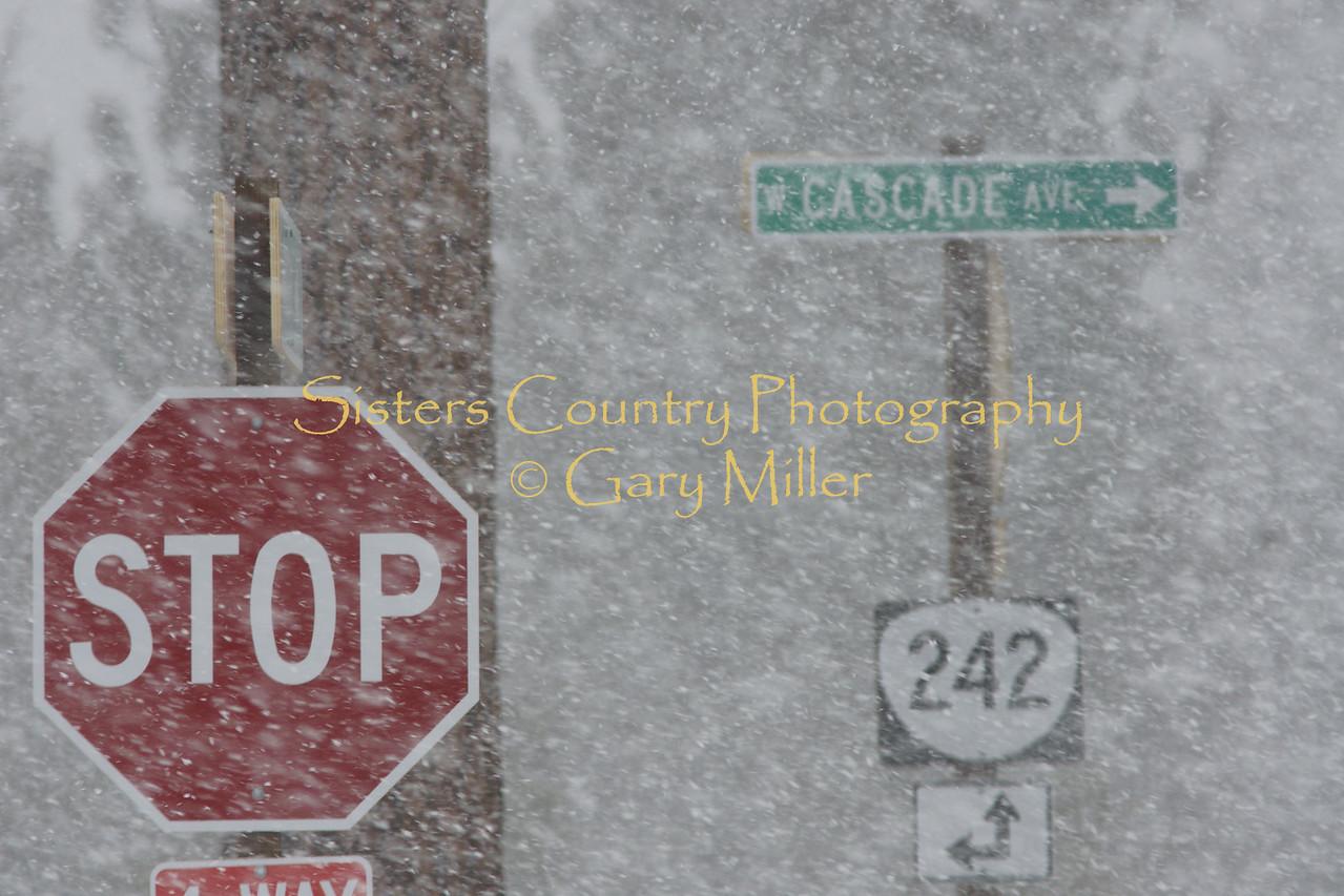 Stop snowing please!