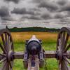 Cannon at Bull Run. Position of Stonewall Jackson