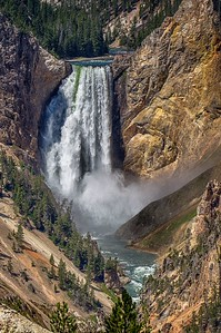 Lower Falls of the Grand Canyon of Yellowstone