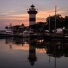 Hilton Head Lighthouse at Sunset