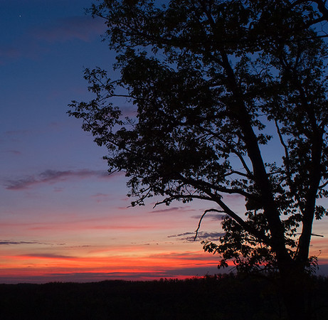 Sunset at Shawnee State Forest