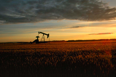 Oil Pump in Northern Alberta, Canada