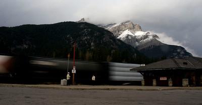 Jasper train Station, Jasper, Alberta