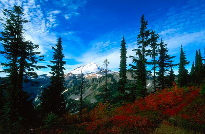 Mount Baker in the Fall
