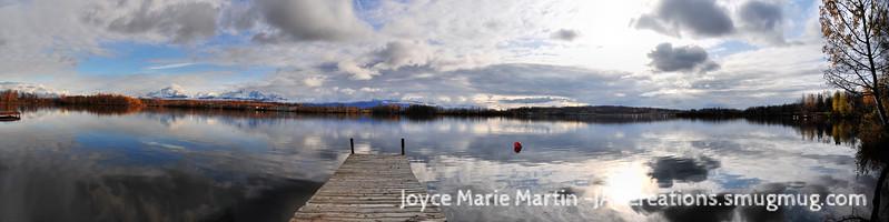 wasilla lake pano