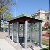 ArtWalk Bus Shelter -----Please Photo Credit: Communications Bureau, City of Rochester